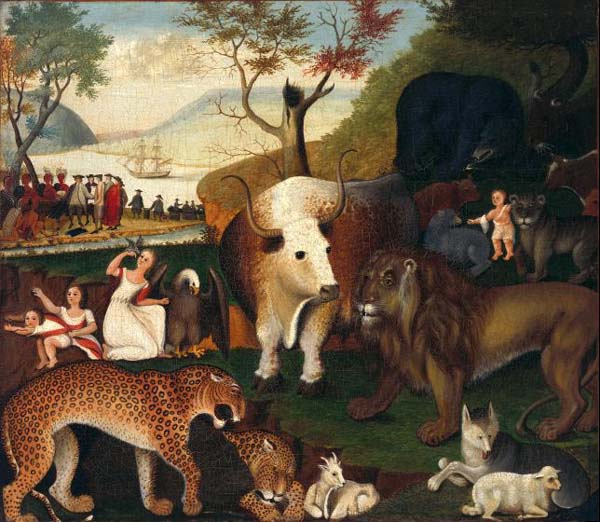 proxy - Thirteen Ways of Looking at the Peaceable Kingdom - Lifestyle, Culture and Arts